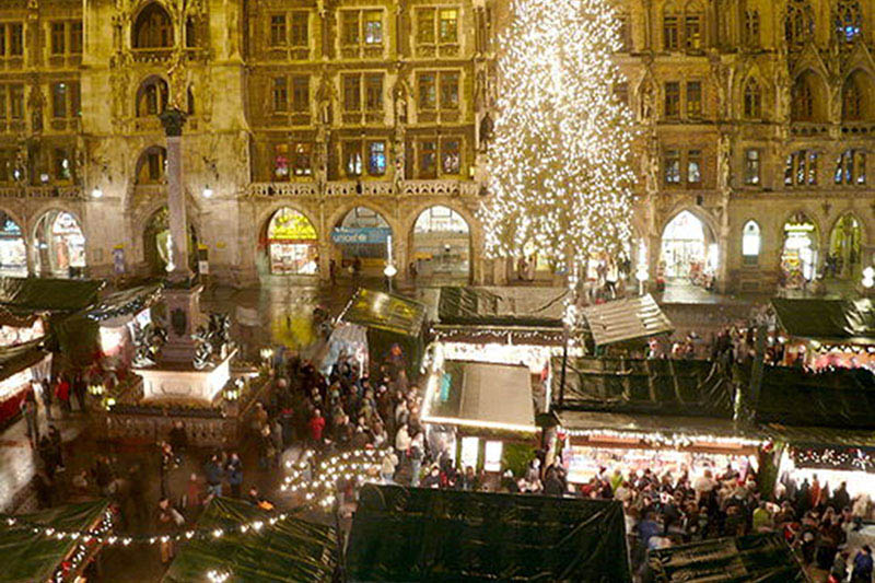 Event Highlights München Weihnachtsmarkt Marienplatz