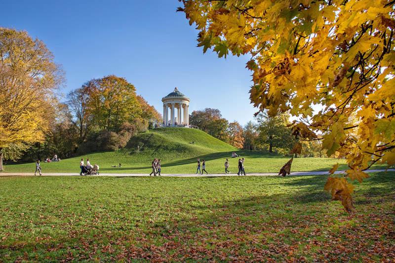 Sehenswürdigkeiten München Englischer Garten
