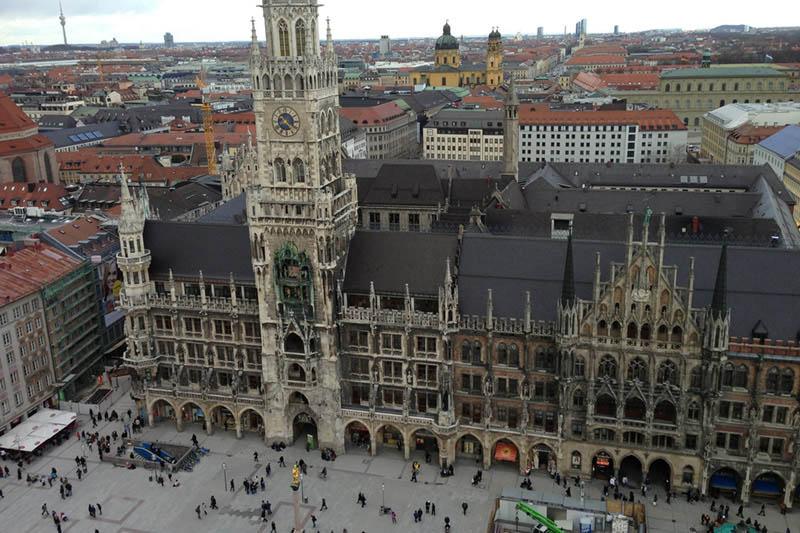 Sehenswürdigkeiten München Marienplatz